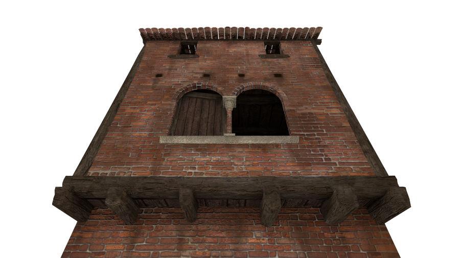 Medieval House 3D Model $40 -  fbx  obj  3ds - Free3D
