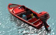 Motorboat 3d model