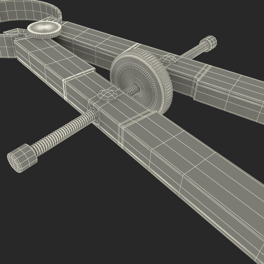Opracowywanie kompasu royalty-free 3d model - Preview no. 14
