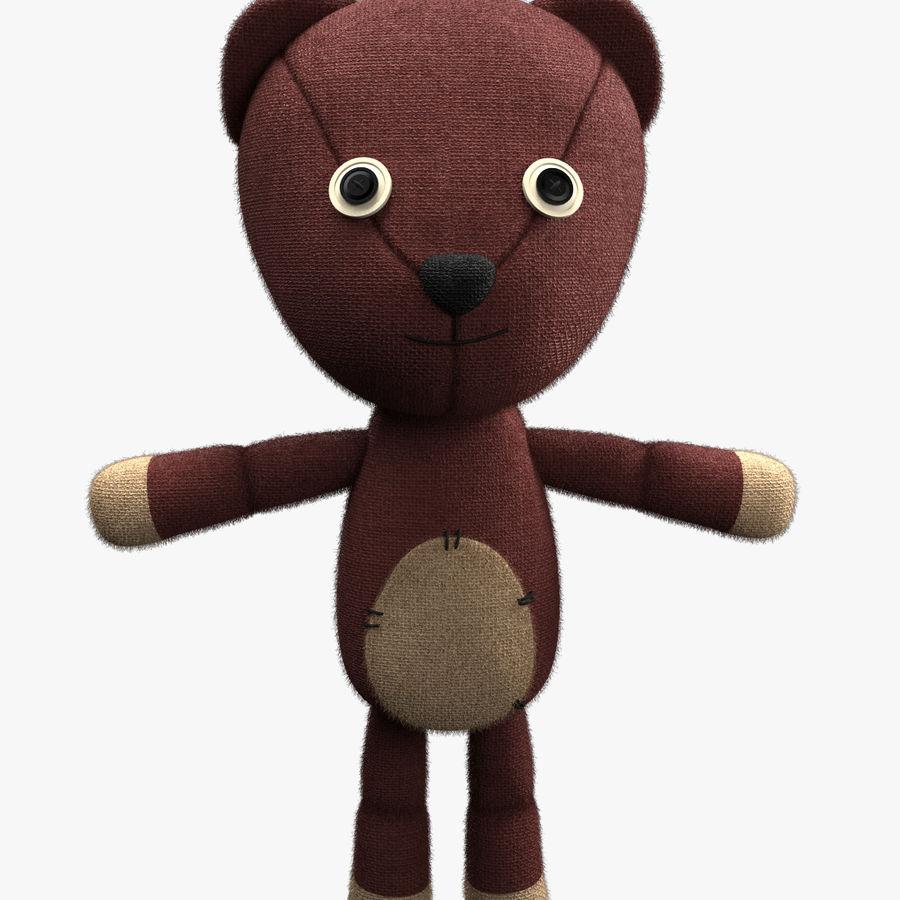 Teddybär royalty-free 3d model - Preview no. 1