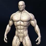 Superhjälte 3d model