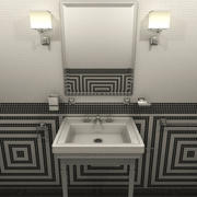 Badezimmermöbel und -einrichtungen 3d model