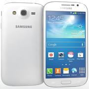 Sumsung Galaxy Grand Neo White 3d model