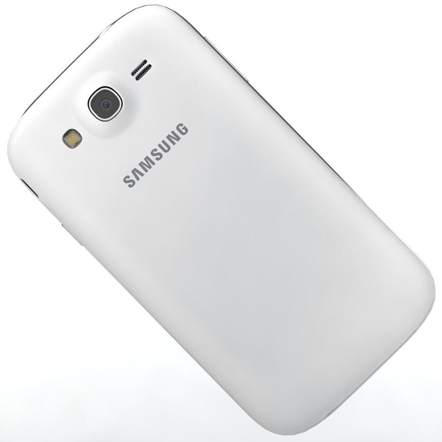 Sumsung Galaxy Grand Neo White royalty-free 3d model - Preview no. 22