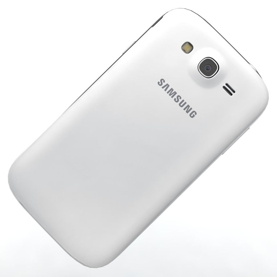 Sumsung Galaxy Grand Neo White royalty-free 3d model - Preview no. 19