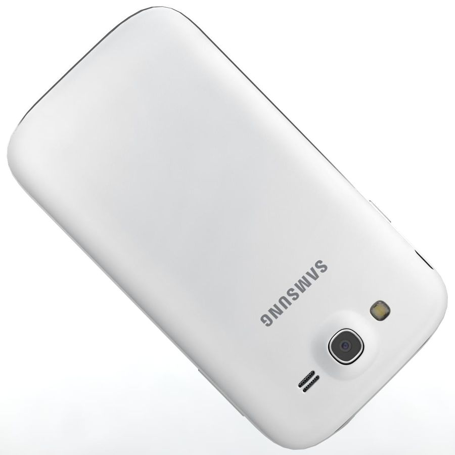 Sumsung Galaxy Grand Neo White royalty-free 3d model - Preview no. 20