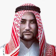 Arabische man 3d model