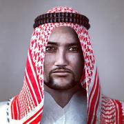Homem árabe 3d model
