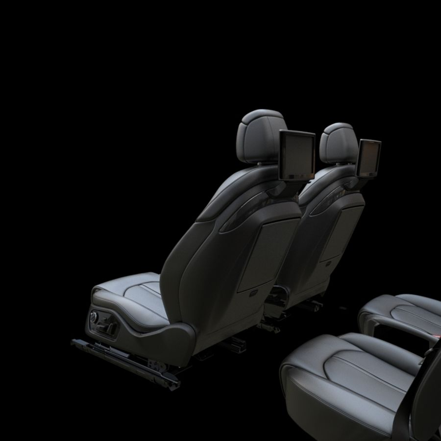 Assento de carro royalty-free 3d model - Preview no. 5