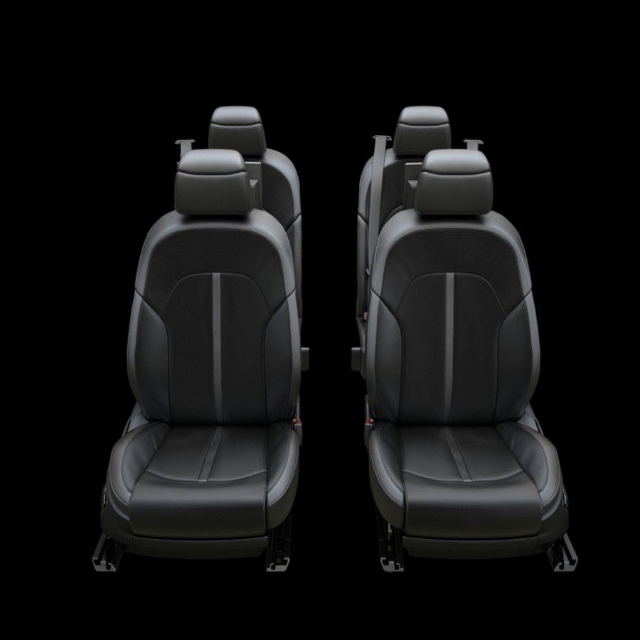 Assento de carro royalty-free 3d model - Preview no. 3
