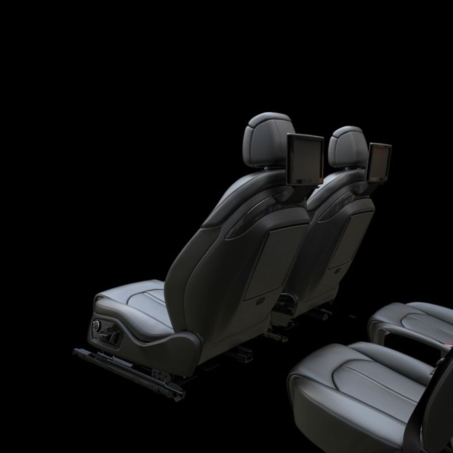 Car seat royalty-free 3d model - Preview no. 5