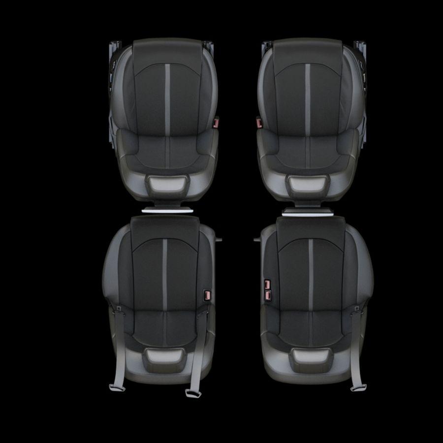 Assento de carro royalty-free 3d model - Preview no. 4