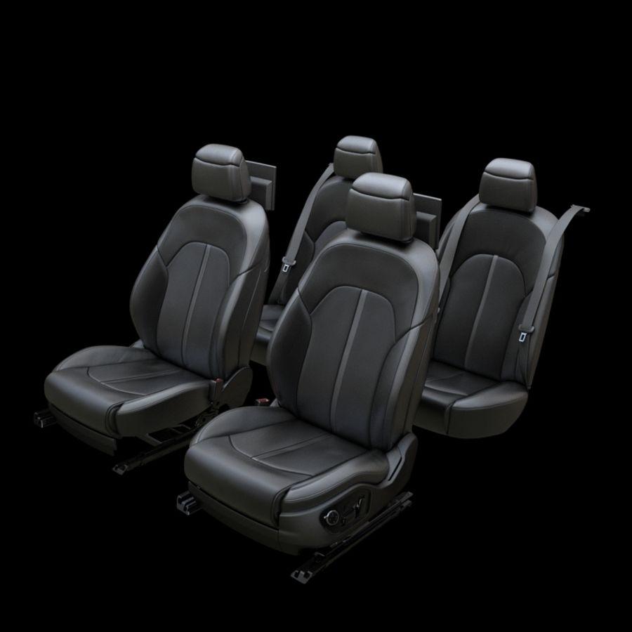Assento de carro royalty-free 3d model - Preview no. 1