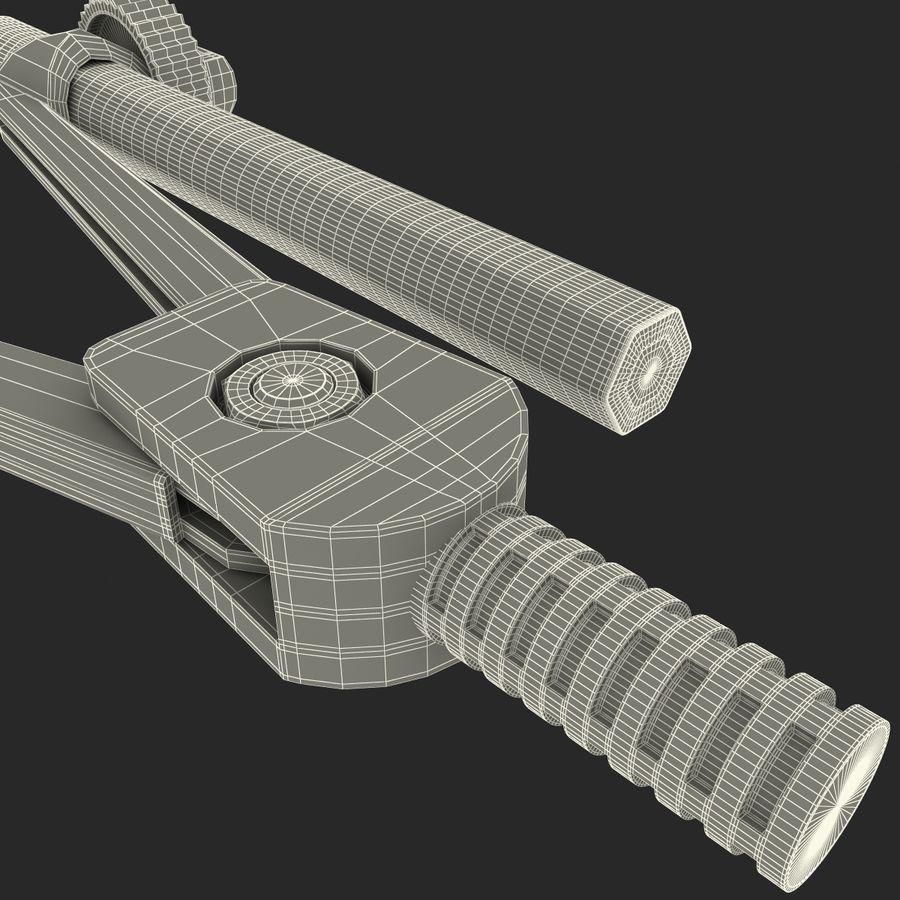 Bússola de desenho com lápis royalty-free 3d model - Preview no. 24