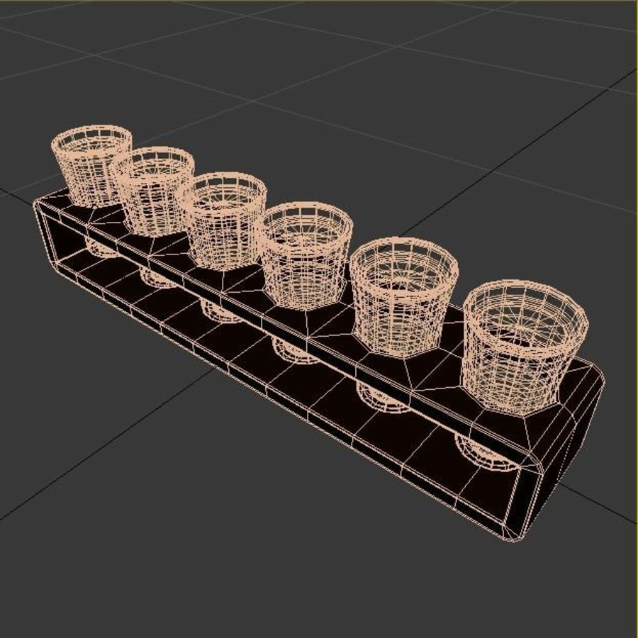 Set tiro Tequilla royalty-free 3d model - Preview no. 6