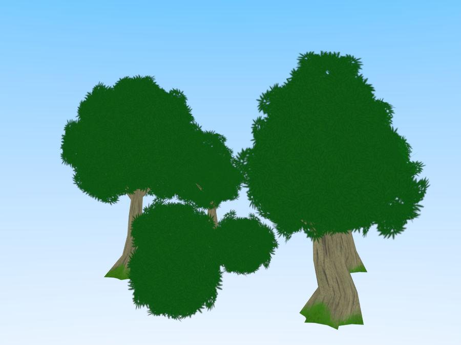 anime / cartoon vegetation royalty-free 3d model - Preview no. 2