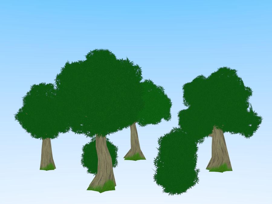 anime / cartoon vegetation royalty-free 3d model - Preview no. 1