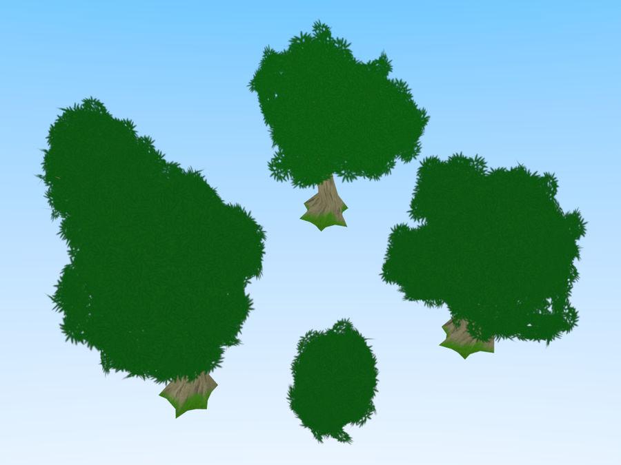 anime / cartoon vegetation royalty-free 3d model - Preview no. 4