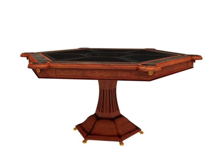 stół do salonu royalty-free 3d model - Preview no. 2