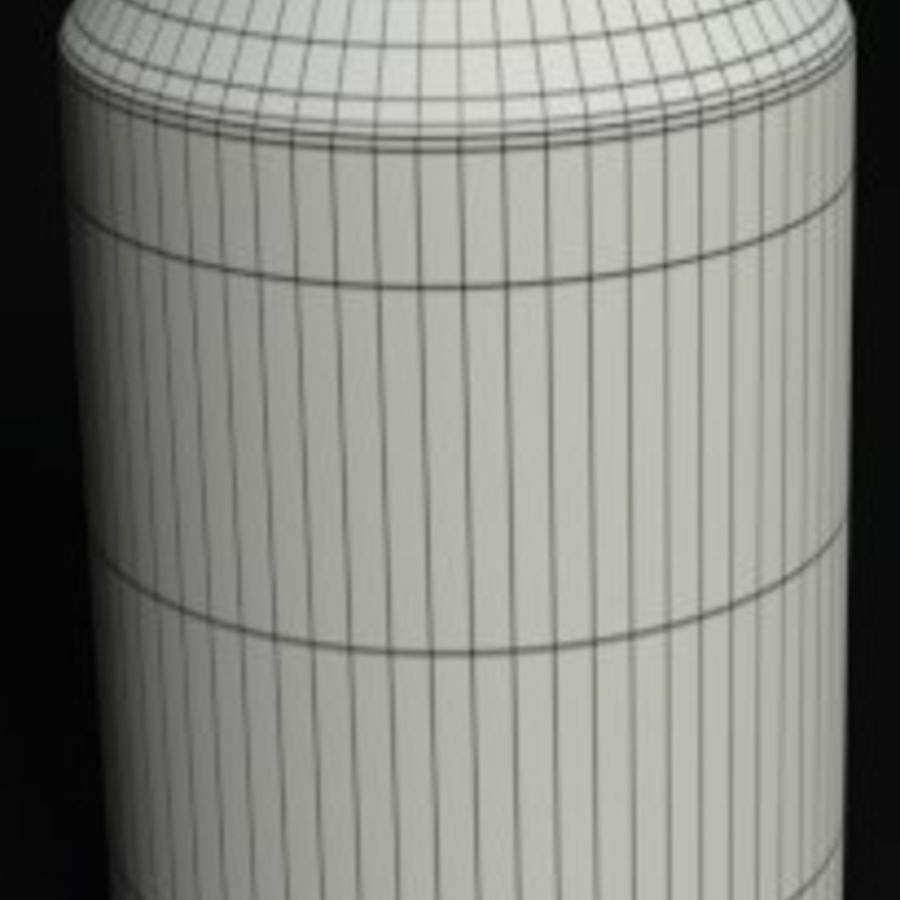 Soda Can royalty-free 3d model - Preview no. 5