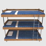 床 3d model