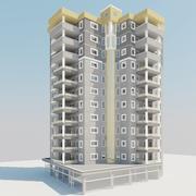 Lägenhet Vray 3d model