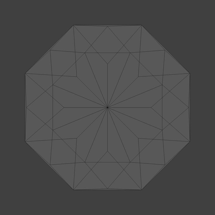 Diamond royalty-free 3d model - Preview no. 7