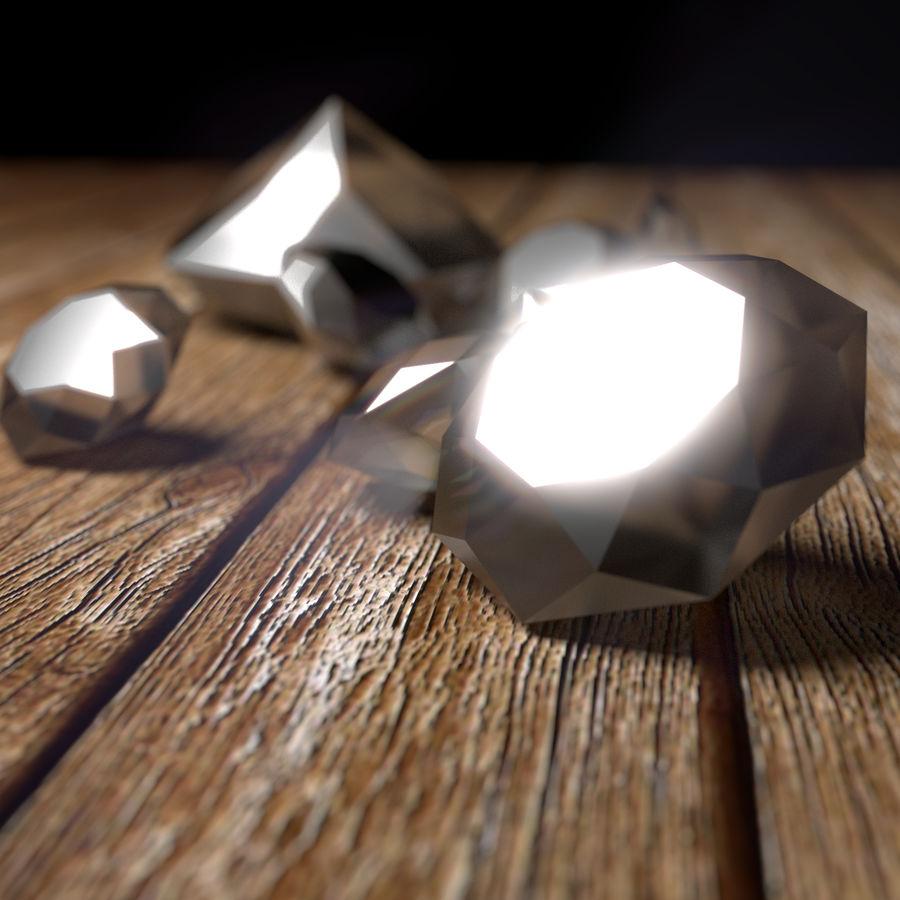 Diamond royalty-free 3d model - Preview no. 3