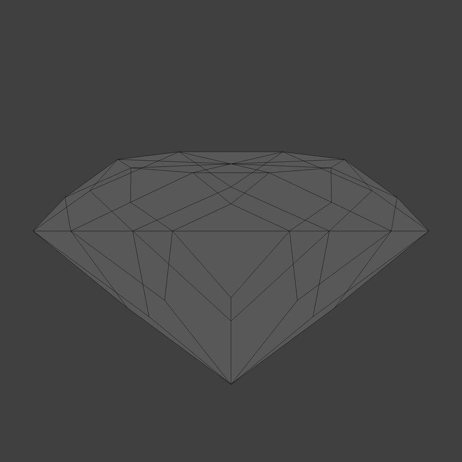 Diamond royalty-free 3d model - Preview no. 6