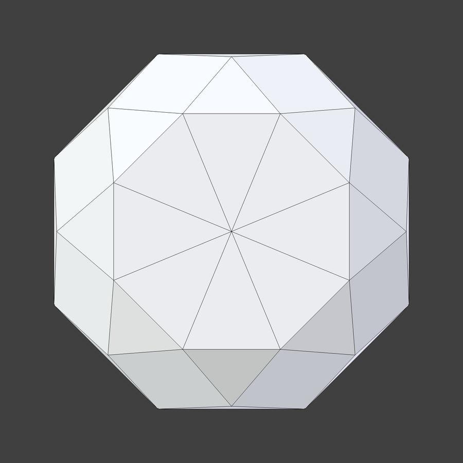 Diamond royalty-free 3d model - Preview no. 5