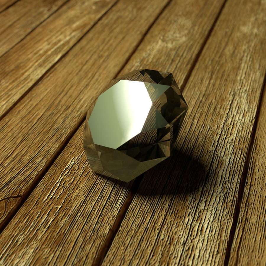 Diamond royalty-free 3d model - Preview no. 1