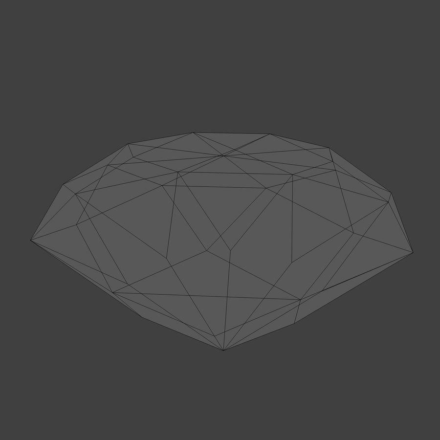 Diamond royalty-free 3d model - Preview no. 8