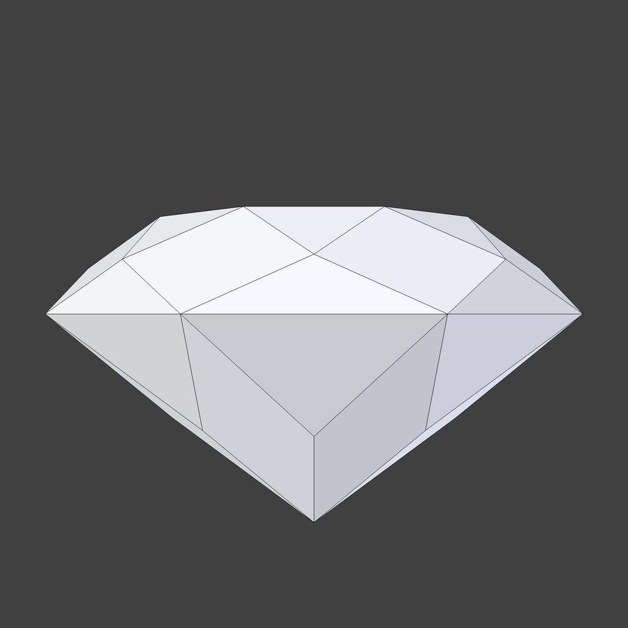 Diamond royalty-free 3d model - Preview no. 4