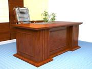 Classic desk 3d model