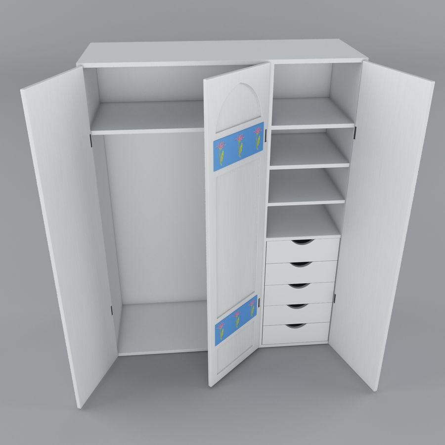 Schrank royalty-free 3d model - Preview no. 1