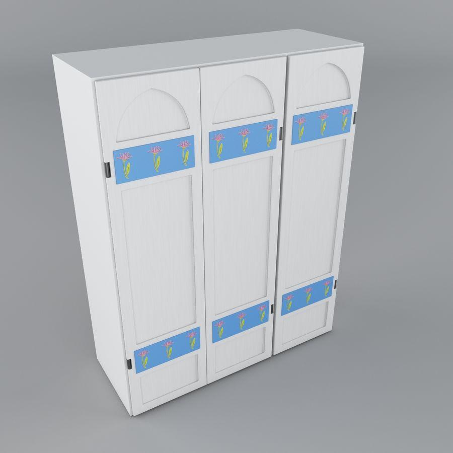 Schrank royalty-free 3d model - Preview no. 6