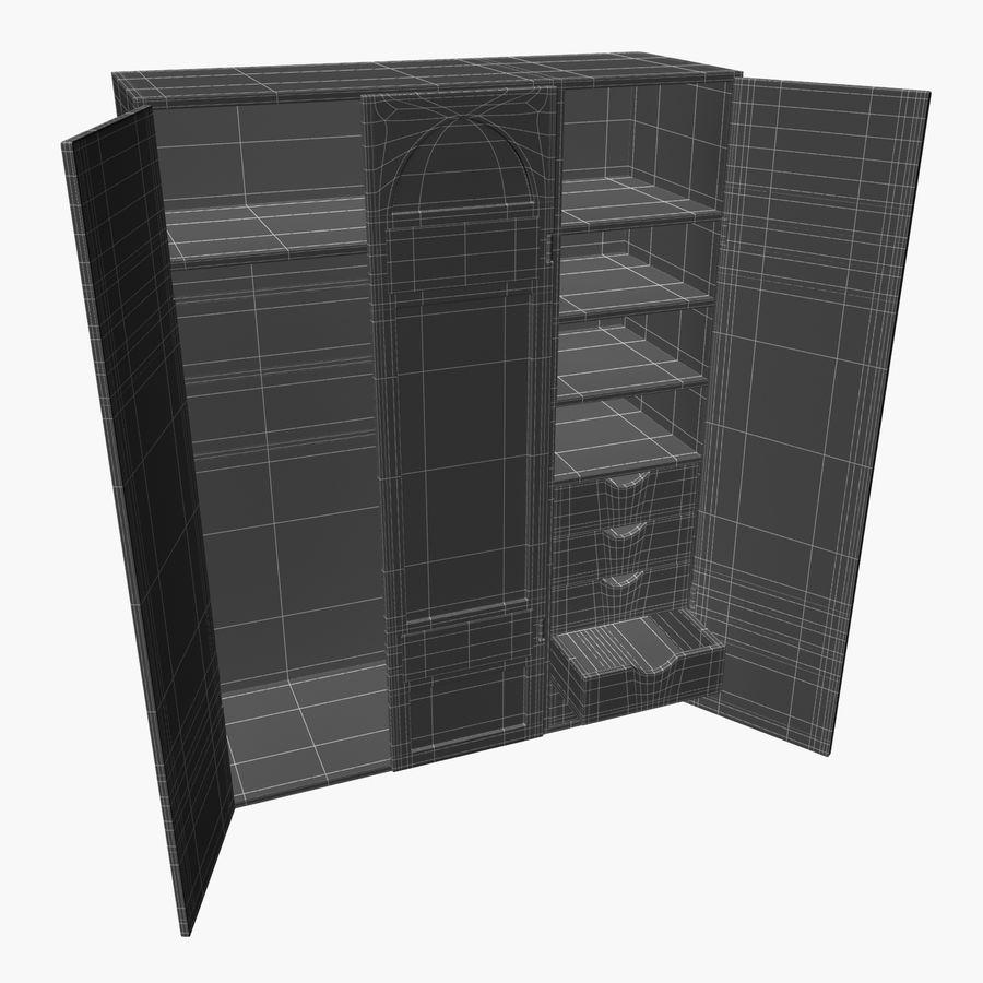 Schrank royalty-free 3d model - Preview no. 11