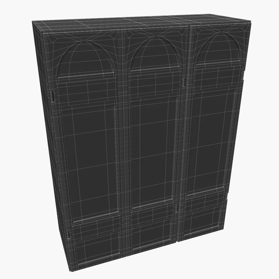 Schrank royalty-free 3d model - Preview no. 10