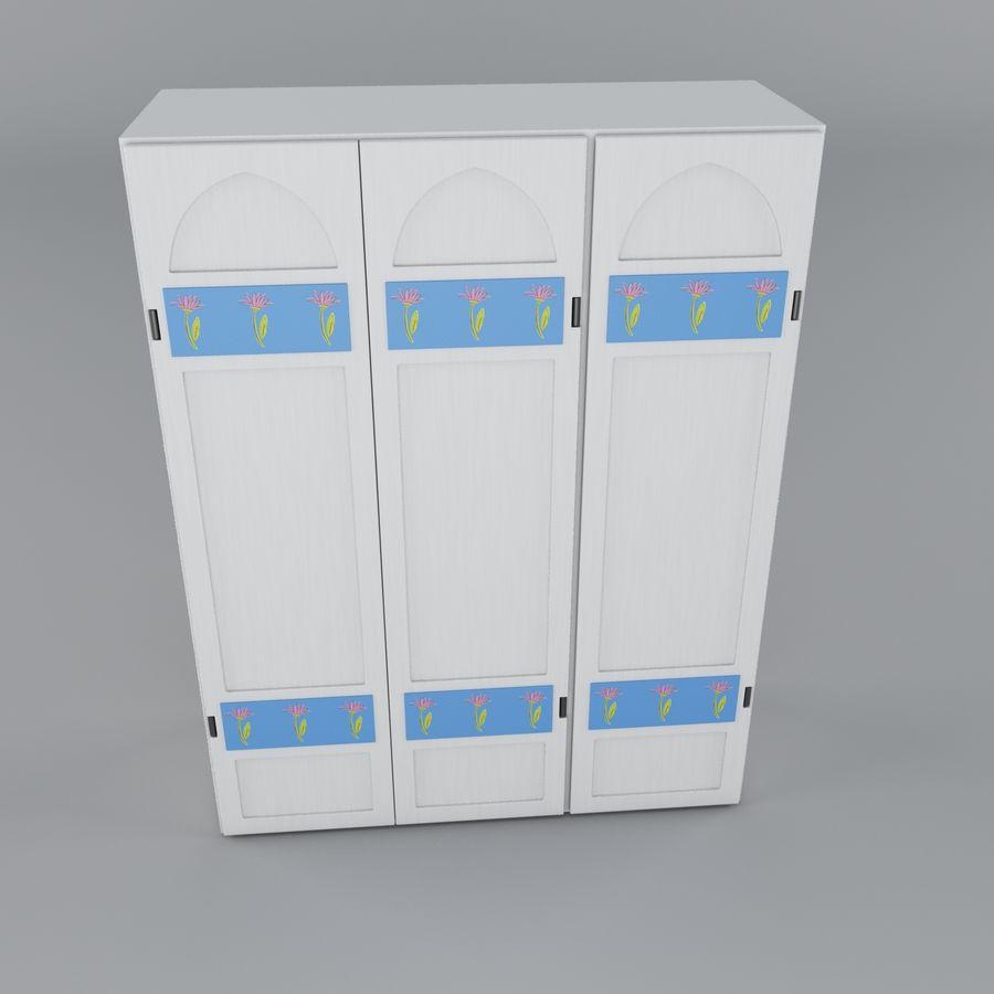 Schrank royalty-free 3d model - Preview no. 5