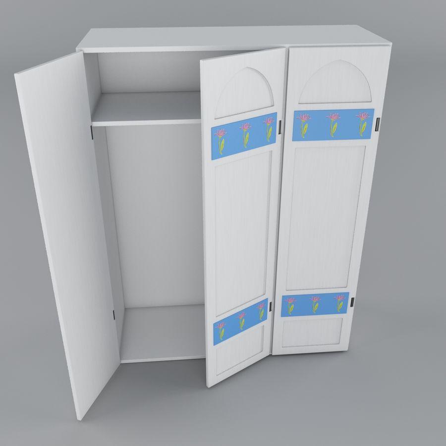 Schrank royalty-free 3d model - Preview no. 4