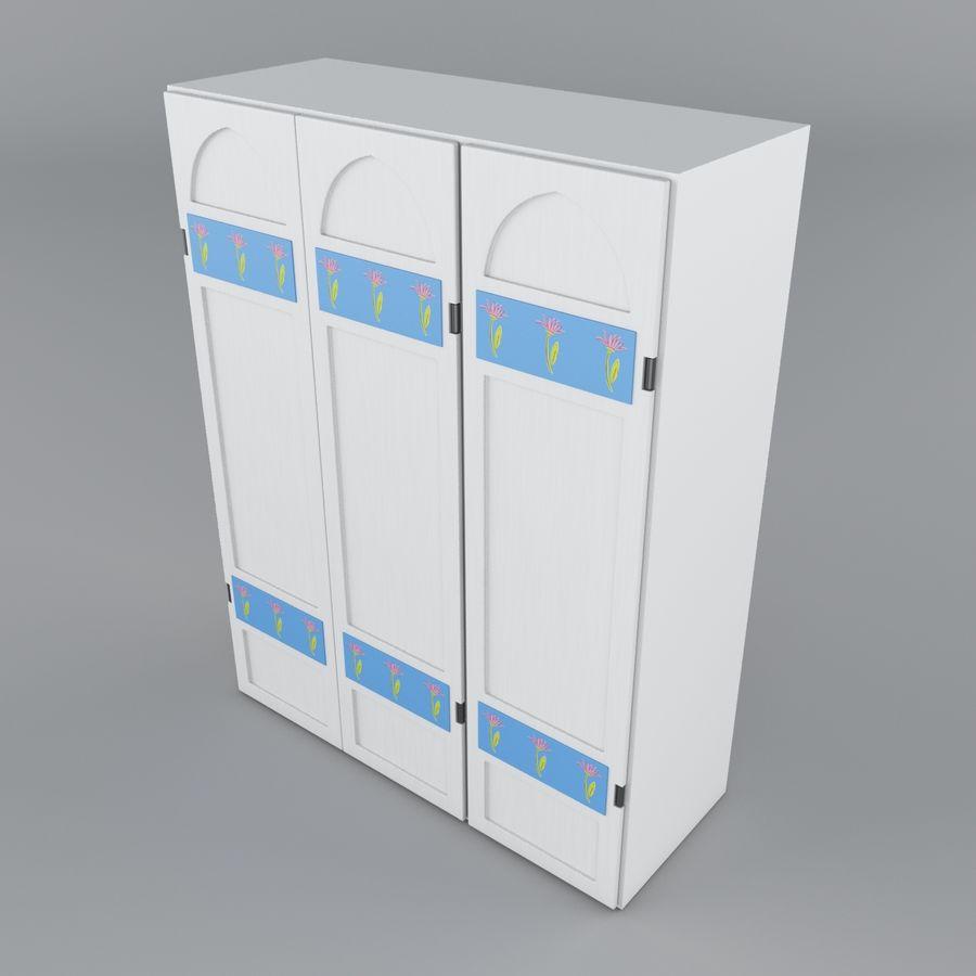 Schrank royalty-free 3d model - Preview no. 7
