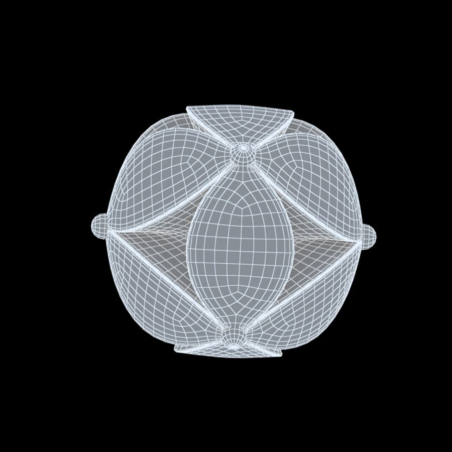 chinesischer Ball royalty-free 3d model - Preview no. 6