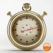 Vintage chronometr 3d model