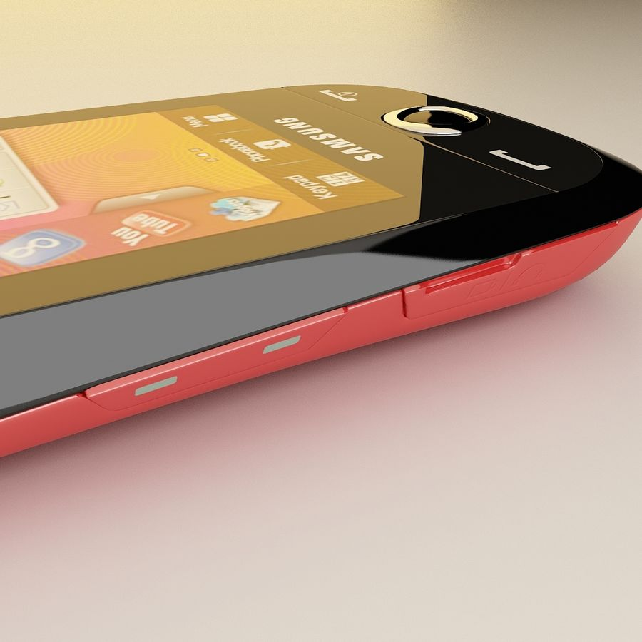 Samsung Corby royalty-free 3d model - Preview no. 6