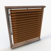 Elegant fönster 3d model