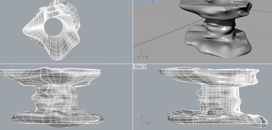 nuage royalty-free 3d model - Preview no. 2