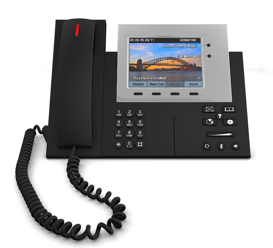 Telefone IP da Cisco royalty-free 3d model - Preview no. 4