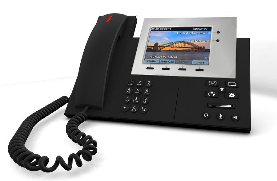 Telefone IP da Cisco royalty-free 3d model - Preview no. 2