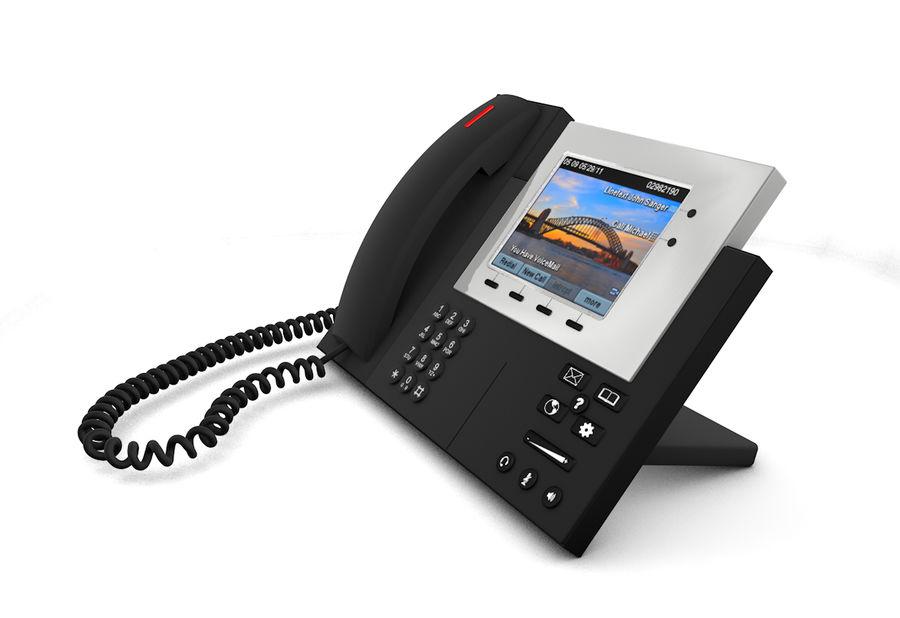 Telefone IP da Cisco royalty-free 3d model - Preview no. 5