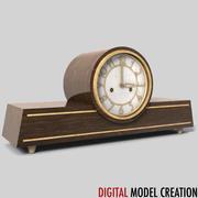 shelf clock 01 3d model